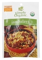 Simply Organic - Jambalaya Seasoning Mix - 0.74 oz. (089836157034)