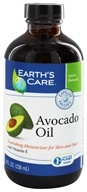 Image of Earth's Care - Avocado Oil Nourishing Moisturizer for Skin and Hair - 8 oz.