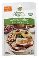 Simply Organic - Roasted Turkey Gravy Mix - 0.85 oz. (089836185457)