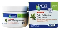 Image of Earth's Care - Pain Relieving Ointment Triple Action - 2.5 oz.