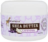 Out Of Africa - Raw Wild Crafted 100% Pure Shea Butter Lavender - 8 oz. by Out Of Africa