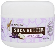 Out Of Africa - Raw Wild Crafted 100% Pure Shea Butter Lavender - 8 oz.