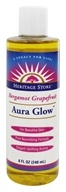 Image of Heritage - Aura Glow Body Oil Bergamot Grapefruit - 8 oz.