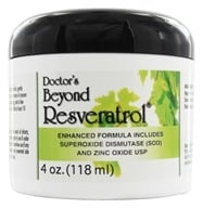 Fountain of Youth Technologies - Doctor's Beyond Resveratrol Cream - 4 oz. - $31.47