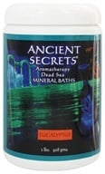 Ancient Secrets - Dead Sea Mineral Bath Salts Eucalyptus - 1 lb.