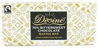 Divine - 70% Bittersweet Chocolate Baking Bar - 5.3 oz. by Divine