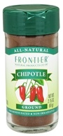 Frontier Natural Products - Ground Chipotle - 2.15 oz. (089836195258)