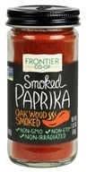 Image of Frontier Natural Products - All-Natural Ground Smoked Paprika - 1.87 oz.