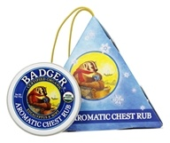 Badger - Aromatic Chest Rub Ornament - 0.75 oz.
