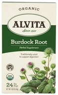 Image of Alvita - Organic Burdock Root Tea - 24 Tea Bags