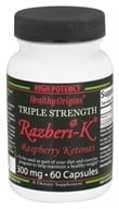 Healthy Origins - Razberi-K Triple Strength Raspberry Ketones 300 mg. - 60 Capsules