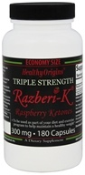 Image of Healthy Origins - Razberi-K Triple Strength Raspberry Ketones 300 mg. - 180 Capsules