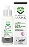 Manuka Doctor - ApiClear Facial Moisturizing Lotion With Purified Bee Venom - 3.38 oz. (852469004095)