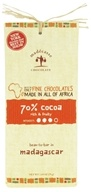 Madecasse - Chocolate Bar 70% Cocoa - 2.64 oz. (898575001337)