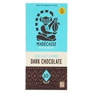 Madecasse - Chocolate Bar Sea Salt & Nibs 63% Cocoa - 2.64 oz.