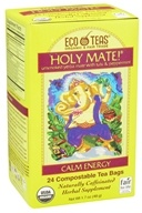 Eco Teas - Organic Holy Mate Yerba Mate - 24 Tea Bags (819162004562)