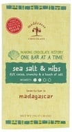 Madecasse - Chocolate Bar Mini Sea Salt & Nibs 63% Cocoa - 0.88 oz. (898575001566)