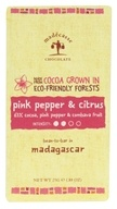 Madecasse - Chocolate Bar Mini Pink Pepper & Citrus - 0.88 oz. (898575001573)