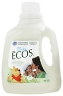 Earth Friendly - Baby Ecos Hypoallergenic Laundry Detergent Free & Clear - 100 oz.