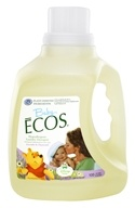 Earth Friendly - Baby Ecos Hypoallergenic Laundry Detergent Lavender & Chamomile - 100 oz.