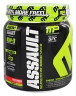 Muscle Pharm - Assault Athletes Pre-Workout System Bonus Size Fruit Punch - 1.16 lbs. by Muscle Pharm