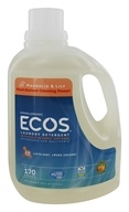 Earth Friendly - ECOS 2X Ultra All Natural Laundry Detergent Magnolia & Lily - 170 oz. (749174093721)