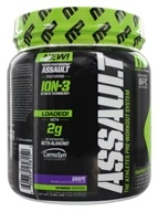 Image of Muscle Pharm - Assault Athletes Pre-Workout System Grape - 0.96 lbs.