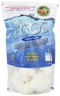 Earth Friendly - ECOS 2X Ultra Laundry Detergent Pods Free & Clear - 20 Pouches