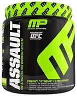 Image of Muscle Pharm - Assault Athletes Pre-Workout System Lemon Lime - 0.96 lbs.