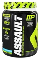 Muscle Pharm - Assault Athletes Pre-Workout System Blue Arctic Raspberry - 1.59 lbs. (696859258183)