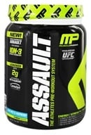 Muscle Pharm - Assault Athletes Pre-Workout System Blue Arctic Raspberry - 1.59 lbs. - $47.99