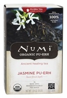 Numi Organic - Pu-erh Tea Jasmine - 16 Tea Bags, from category: Teas