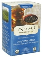 Image of Numi Organic - Black Tea Decaf Earl Grey - 16 Tea Bags
