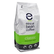 Ethical Bean Coffee - Organic Medium Roast Whole Bean Classic - 12 oz.
