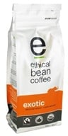 Ethical Bean Coffee - Organic Medium Roast Whole Bean Exotic - 12 oz.