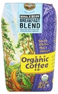 Organic Coffee Company - Breakfast Blend Whole Bean Coffee - 12 oz. (751228021154)