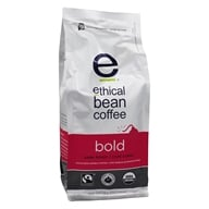 Image of Ethical Bean Coffee - Organic Dark Roast Whole Bean Bold - 12 oz.