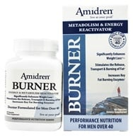 Image of Sera-Pharma - Amidren Burner Energy & Metabolism Reactivator - 60 Capsules