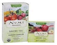 Numi Organic - Savory Tea Garden Sampler - 12 Tea Bags, from category: Teas