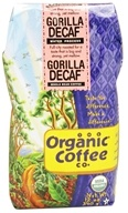 Organic Coffee Company - Gorilla Decaf Whole Bean Coffee - 12 oz.