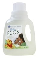 Earth Friendly - Baby Ecos Hypoallergenic Laundry Detergent Free & Clear - 50 oz. (749174094568)