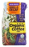 Organic Coffee Company - Ground Coffee Gorilla Decaf - 12 oz.