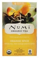 Numi Organic - White Tea Orange Spice - 16 Tea Bags