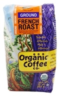 Organic Coffee Company - French Roast Ground Coffee - 12 oz. (751228037582)