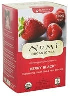 Numi Organic - Black Tea Berry - 16 Tea Bags, from category: Teas
