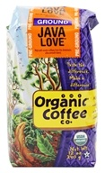 Organic Coffee Company - Ground Coffee Java Love - 12 oz.