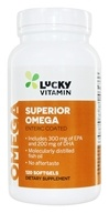 LuckyVitamin - Superior Omega-3 - 120 Enteric Coated Softgels