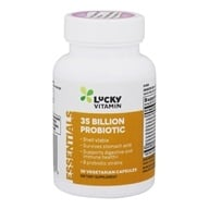 LuckyVitamin - 35 Billion Probiotic Shelf Stable 8 Strains - 30 Vegetarian Capsules