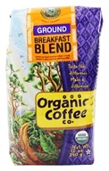 Organic Coffee Company - Breakfast Blend Ground Coffee - 12 oz. (751228037155)