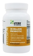 LuckyVitamin - Probiotic Shelf Stable 8 Strains 35 Billion CFU - 60 Vegetarian Capsules